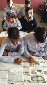 news paper activity