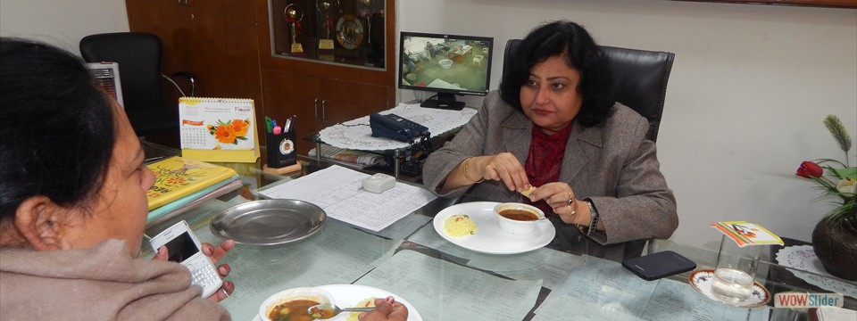 food tasted by Head and Teachers and cctv supervision