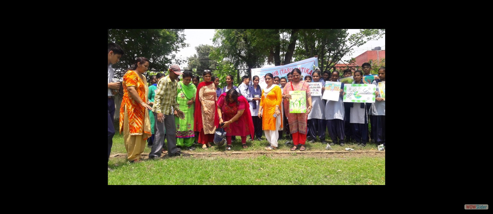 Eco Club - Plantation on occasion of Van Mahotsav